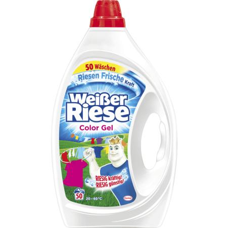 Weisser Riese Color Gel 50 Waschgänge