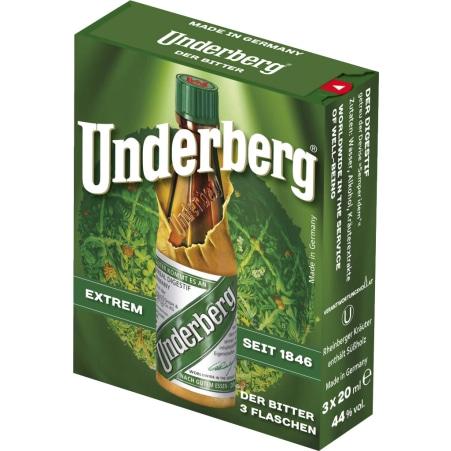 Underberg Rheinberger Kräuterlikör 44% 3er-Packung