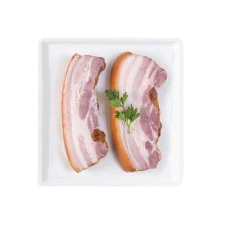 Alpenmetzgerei Schweine Bauch geschnitten