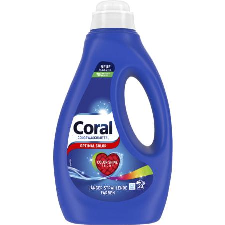 Coral Optimal Color Flüssigwaschmittel