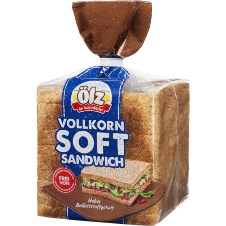 Ölz der Meisterbäcker Vollkorn Soft Sandwich 375 gr.