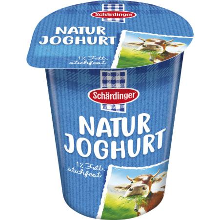 Schärdinger Naturjoghurt stichfest 1%