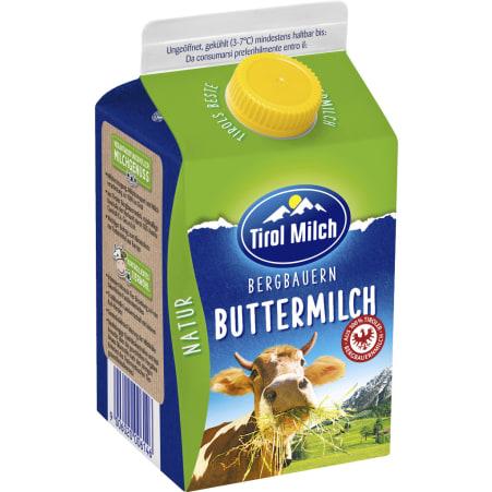 Tirol Milch Bergbauern Buttermilch Natur