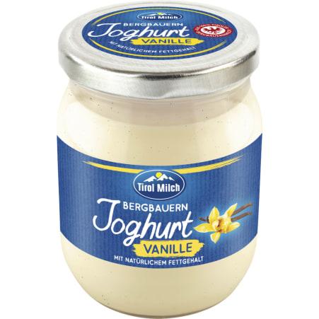 Tirol Milch Bergbauernjoghurt Vanille