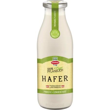 Schärdinger Hafer Trinkgenuss pflanzliche Flasche