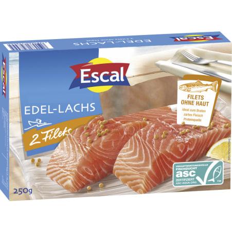 Escal Lachsfilets ohne Haut ASC