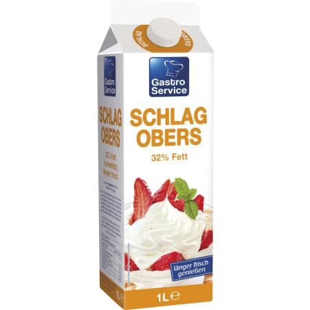 Gastro Service Schlagobers länger frisch 32%