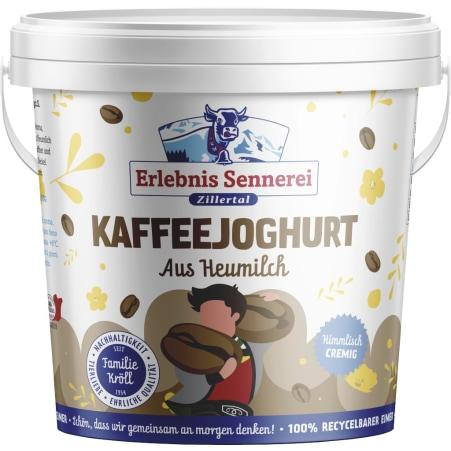 ErlebnisSennerei Zillertal Heumilchjoghurt Kaffee 1 kg