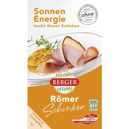 Berger Römer-Schinken geschnitten