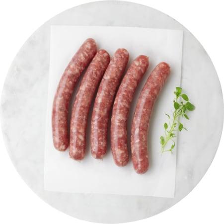 Alpenmetzgerei BBQ Grillwürstel roh