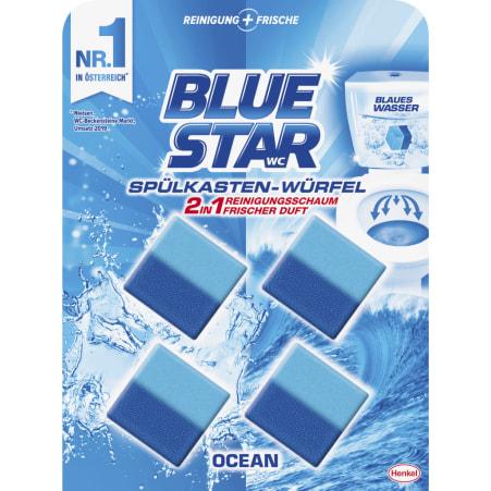 Blue Star Spülkastenwürfel 4er-Packung