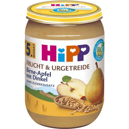 HiPP Birne in Apfel mit Dinkel 4. Monat