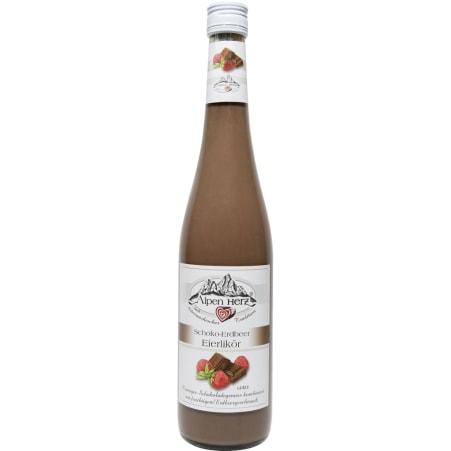 Alpenherz  Schoko-Erdbeer Likör 15%