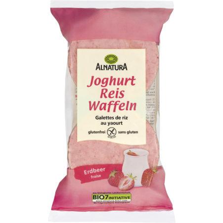 Alnatura Bio Joghurt Reiswaffeln Erdbeer