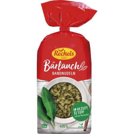 Recheis Bärlauch Bandnudeln