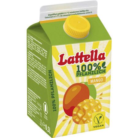 Lattella Kokos-Ananas 100% pflanzlich 0,5 Liter