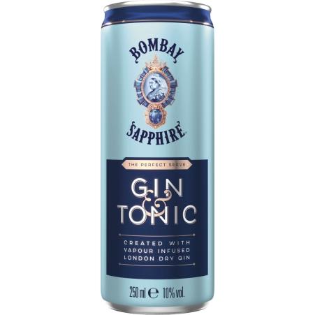 Bombay Sapphire Dry & Tonic 0,25 Liter Dose