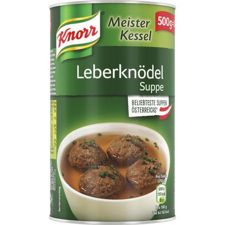 Knorr Meister Kessel Leberknödelsuppe