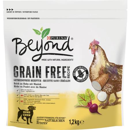 PURINA Beyond Grain Free Hunde Trockenfutter Huhn