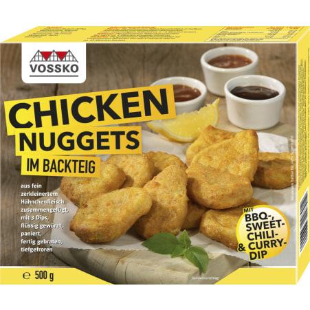 Vossko Chicken Nuggets im Backteig