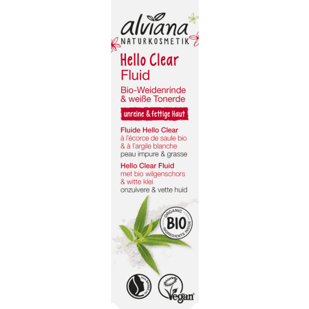 alviana Bio Hello Clear Fluid Weidenrinde