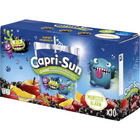 Capri-Sun Monster Alarm 10x 0,2 Liter