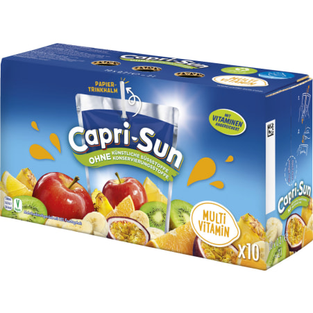 Capri-Sun Multivitamin 10x 0,2 Liter