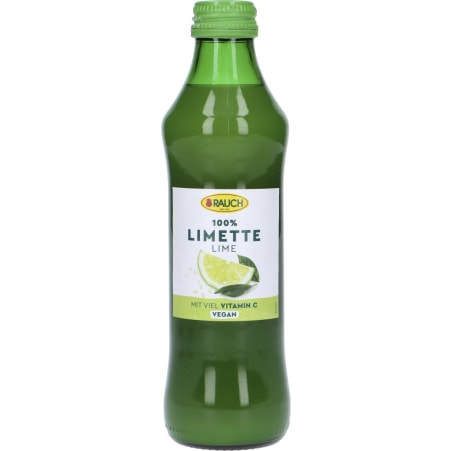 Rauch Limettensaft 0,25 Liter