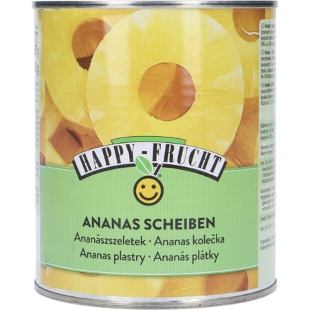 Happy Frucht Ananasscheiben