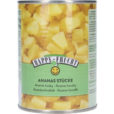 Happy Frucht Ananasstücke