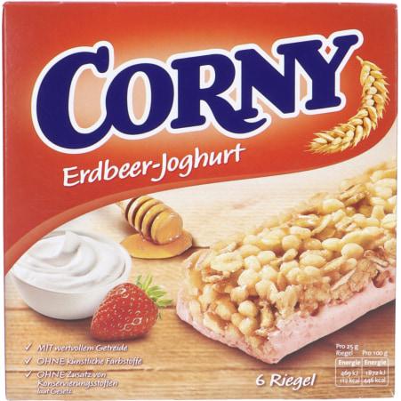 Corny Müsliriegel Erdbeer-Joghurt 6er-Packung