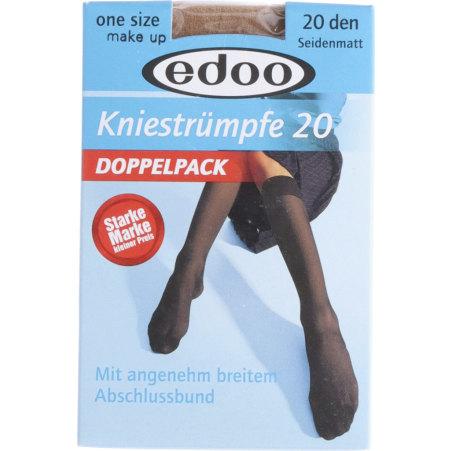 edoo Kniestrümpfe Doppelpack