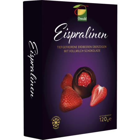 Oswald Eispralinen Erdbeere