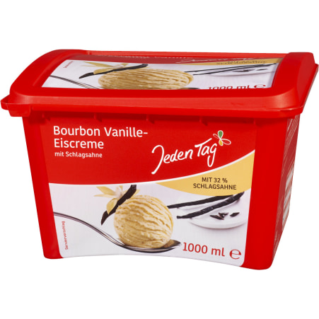 Jeden Tag Bourbon Vanille Eis