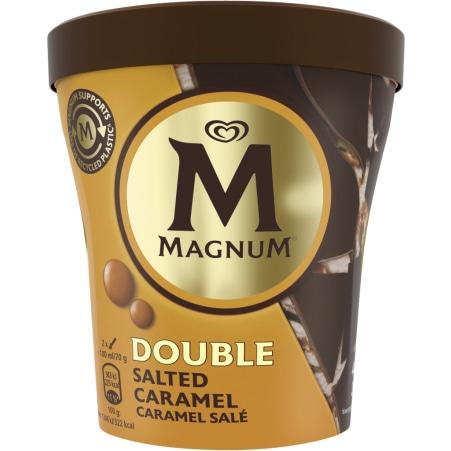 Magnum Double Salted Caramel Becher