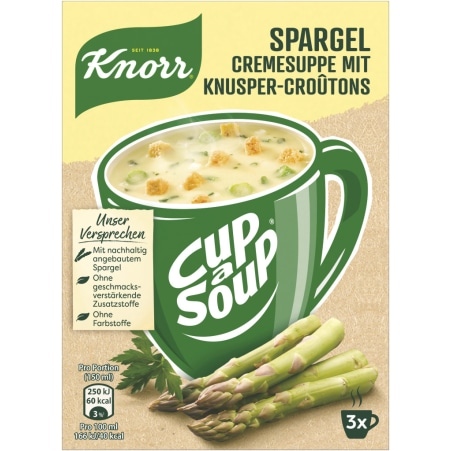 Knorr Cup a Soup Spargelcremesuppe