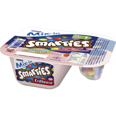 LNPF Mix-in Smarties und Erdbeerjoghurt