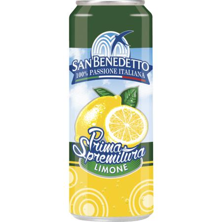 San Benedetto Prima Spremitura Limone 0,33 Liter Dose