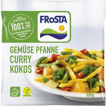 FRoSTA Gemüsepfanne Curry Kokos