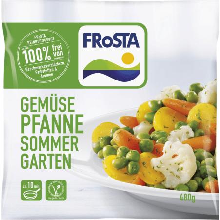 FRoSTA Gemüsepfanne Sommergarten