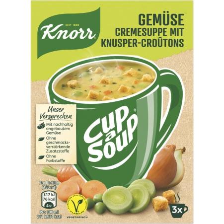 Knorr Cup a Soup Instantsuppe Gemüse