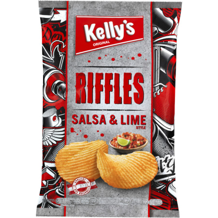 Kelly's Riffles Salsa & Lime