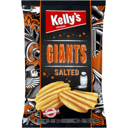 Kelly's Giants Salted