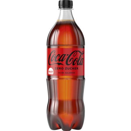 Coca-Cola Zero 1,0 Liter