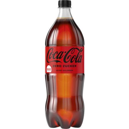 Coca-Cola Zero Tray 4x 1,5 Liter