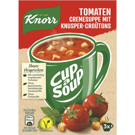 Knorr Cup a Soup Instantsuppe Tomatencreme