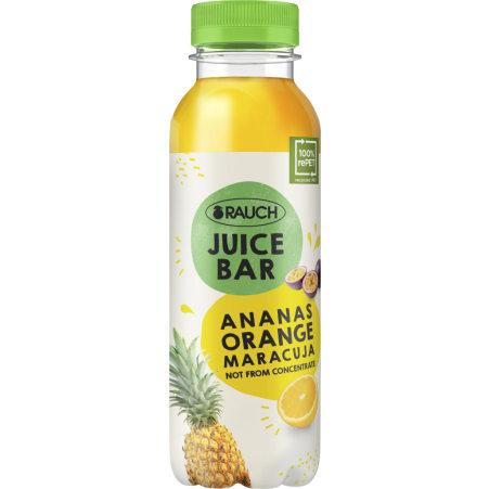 Rauch Juice Bar Ananas-Orange-Maracuja 0,33 Liter