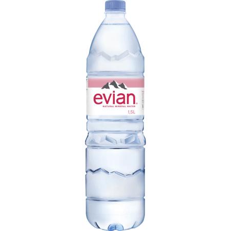 Evian Mineralwasser natürlich 1,5 Liter