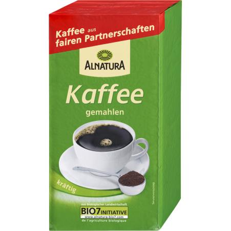 Alnatura Bio Kaffee gemahlen