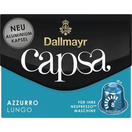 Dallmayr Capsa Lungo Azzuro 10 Kapseln
